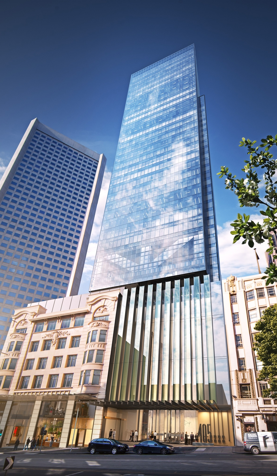 ispt acquires 50  of development at 405 bourke street